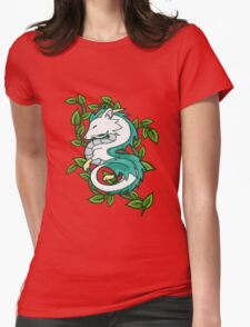 Haku // Spirited Away Womens Fitted T-Shirt