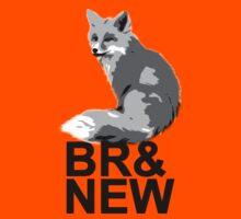 Br& New Fox Kids Tee