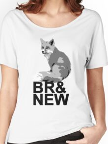 Br& New Fox Women's Relaxed Fit T-Shirt