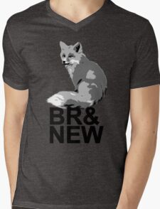Br& New Fox Mens V-Neck T-Shirt