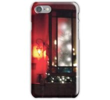 OUTDOOR LIGHT DECORATIONS AT NIGHT iPhone Case/Skin