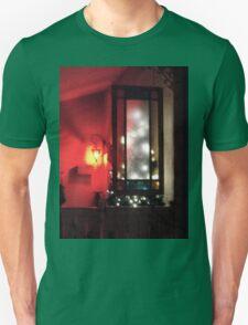 OUTDOOR LIGHT DECORATIONS AT NIGHT Unisex T-Shirt