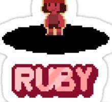 Gem Select - Ruby Sticker