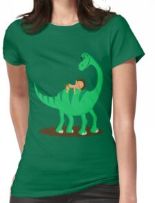 Arlo the good dinosaur Womens Fitted T-Shirt