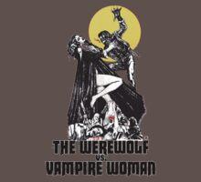 Werewolf vs Vampire Woman by Spookydark