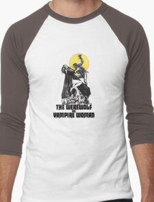 Werewolf vs Vampire Woman Men's Baseball ¾ T-Shirt