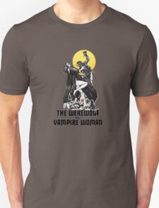 Werewolf vs Vampire Woman Unisex T-Shirt