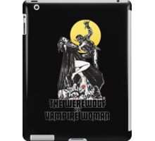 Werewolf vs Vampire Woman iPad Case/Skin