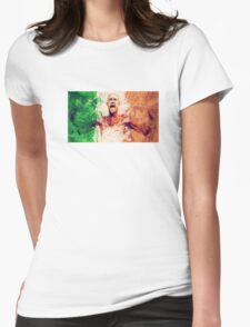 Conor Mcgregor Abstract Womens T-Shirt