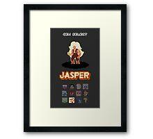 Gem Select - Jasper Framed Print