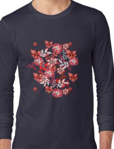 Floral Pattern #18  Long Sleeve T-Shirt