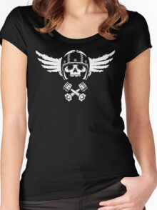 Biker Spirit Women's Fitted Scoop T-Shirt