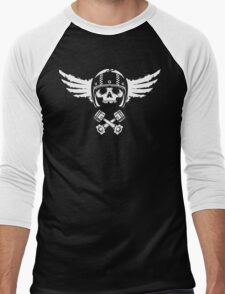 Biker Spirit Men's Baseball ¾ T-Shirt