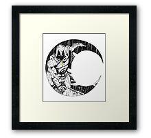 Moon Knight 2 Framed Print