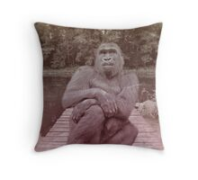 every girl needs alone time Throw Pillow