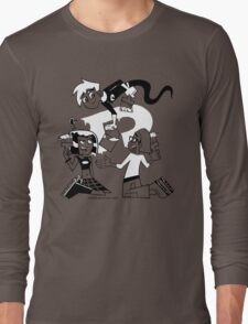 Danny Phantom: Paintbrush Long Sleeve T-Shirt