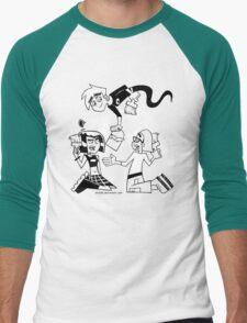 Danny Phantom: Paintbrush Men's Baseball ¾ T-Shirt