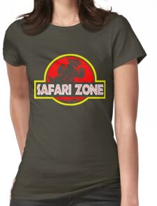 Safari zone Womens Fitted T-Shirt