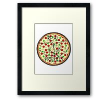 Pop Punk and Pizz // Real Friends Framed Print
