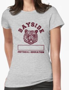 Saved By The Bell Bayside Mascot Womens Fitted T-Shirt