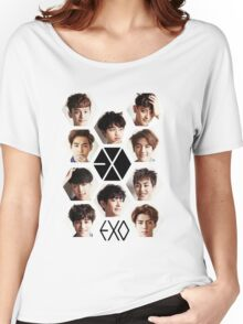 EXO - Group Hex Women's Relaxed Fit T-Shirt