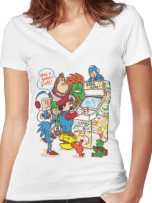 This Game Sucks Women's Fitted V-Neck T-Shirt