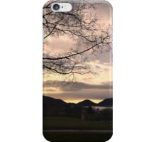 Misty mountain morn iPhone Case/Skin