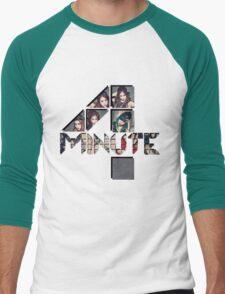 4 minute group logo Men's Baseball ¾ T-Shirt