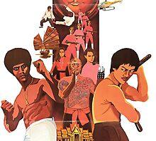 Kung Fu Ninja Commandos by Spookydark
