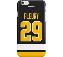 Pittsburgh Penguins Marc-Andre Fleury Alternate Jersey Back Phone Case iPhone Case/Skin