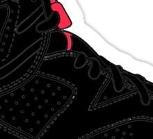 "Air Jordan VI (6) ""Black Infrared"" Sticker"
