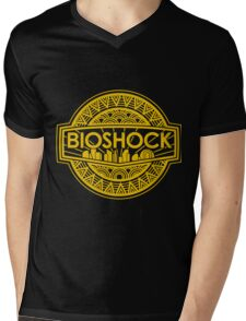gold bioshock Mens V-Neck T-Shirt