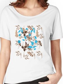 Floral Pattern #22  Women's Relaxed Fit T-Shirt