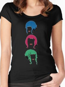 Ramona Flowers Women's Fitted Scoop T-Shirt