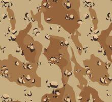 Desert Camouflage Pattern Sticker