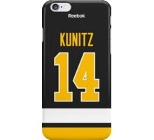 Pittsburgh Penguins Chris Kunitz Alternate Jersey Back Phone Case iPhone Case/Skin