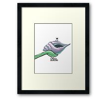 The Magic Conch Shell Framed Print