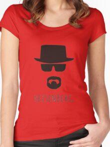 Heisenberg 'Walter White' Women's Fitted Scoop T-Shirt