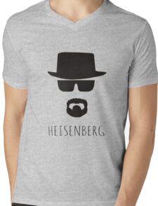 Heisenberg 'Walter White' Mens V-Neck T-Shirt