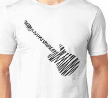 Telecaster guitar sketch Unisex T-Shirt