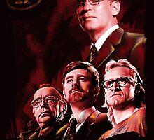 X-Files Lone Gunman Propaganda  by Tracey Gurney