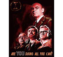 X-Files Lone Gunman Propaganda  Photographic Print