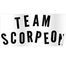 """TEAM SCORPEON"" - Scorpion (large) Poster"