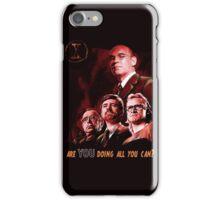 X-Files Lone Gunman Propaganda  iPhone Case/Skin