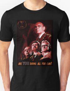 X-Files Lone Gunman Propaganda  T-Shirt