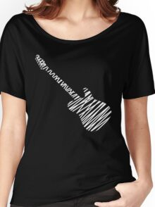 Telecaster guitar sketch Women's Relaxed Fit T-Shirt