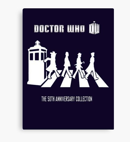 DR WHO 'Beatles style' Canvas Print