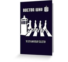DR WHO 'Beatles style' Greeting Card
