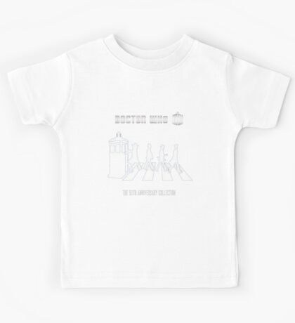 DR WHO 'Beatles style' Kids Tee