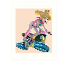 Mario Kart 8 - Princess Peach Art Print